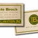 2007 - Christo Brock - Logo, lettering and business card design
