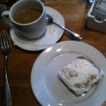 beignets & chicory coffee at angeline's
