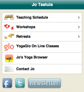 screen shot of jotastula.com mobile version